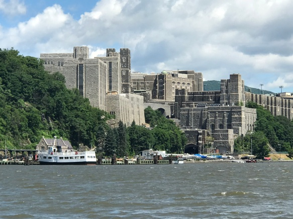 West Point Academy from Hudson