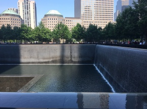 911 Memorial Reflection Pool
